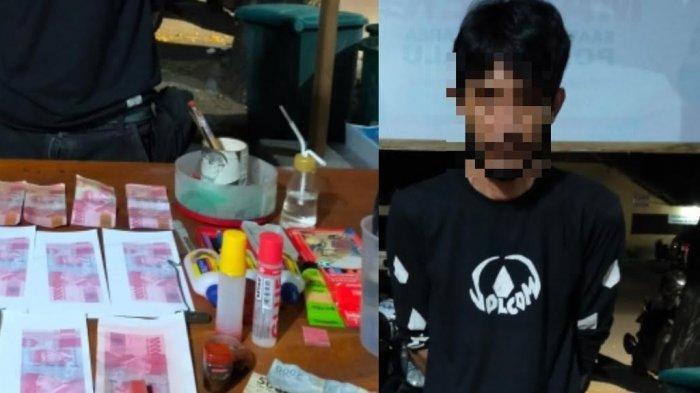 BREAKING NEWS: Polisi Ciduk Pembuat Uang Palsu di Palu