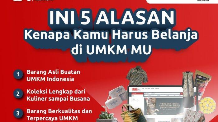 Tawarkan Produk Asli Indonesia, Ini 5 Alasan Kamu Harus Belanja di UMKMMU Menurut OJK Sulteng