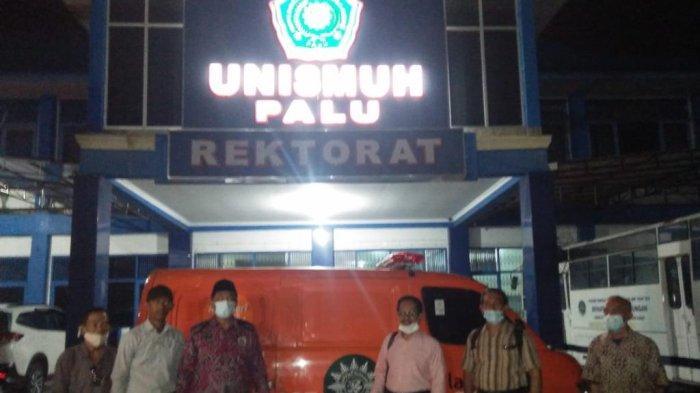 Unismuh Palu Terima Bantuan Ambulans dari Muhammadiyah Jawa Timur