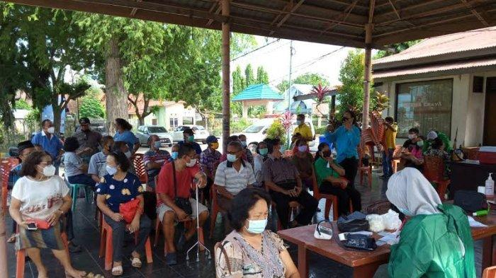 28 Lansia di Birobuli Selatan Palu Divaksin Tahap Pertama, 12 Orang Ditunda