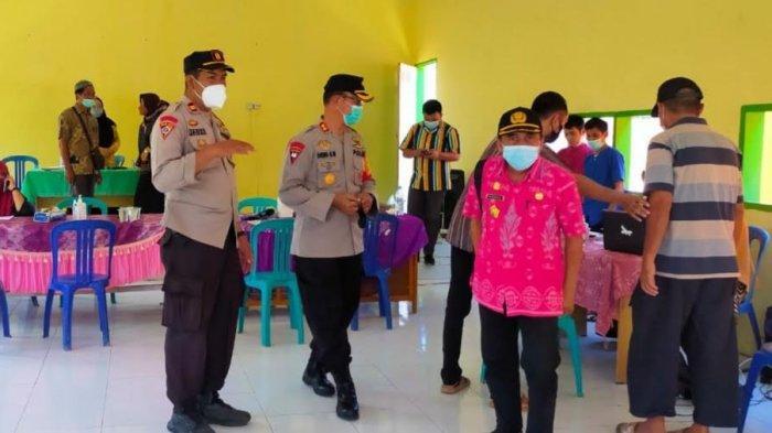 261 Warga Desa Baruga Buol Ikuti Vaksinasi Covid-19