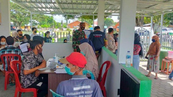 Percepat Vaksinasi, Pemerintah dan TNI-Polri Bersinergi Buka 3 Gerai Vaksin di Palu Utara