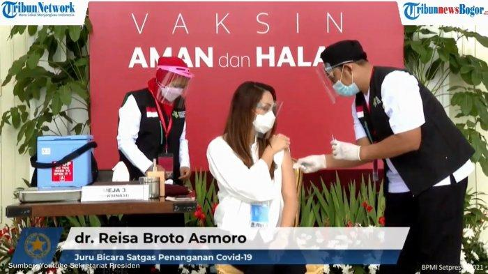 Tiga Sebelum Tiga: Tips Aman Sebelum Vaksinasi Covid-19 dari Reisa Broto Asmoro