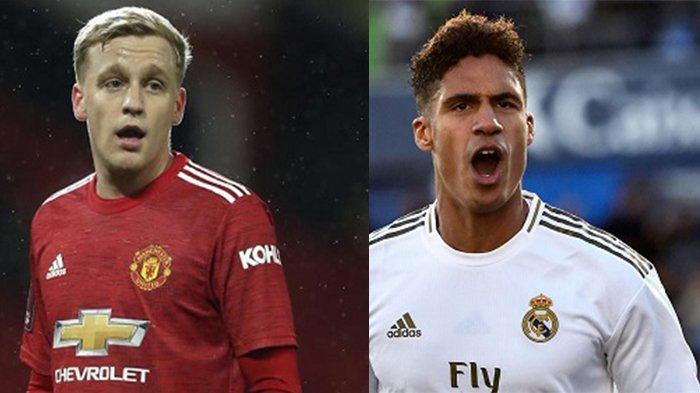 Man United Akhirnya Jalin Kesepakatan dengan Varane, Van De Beek Jadi Tumbal