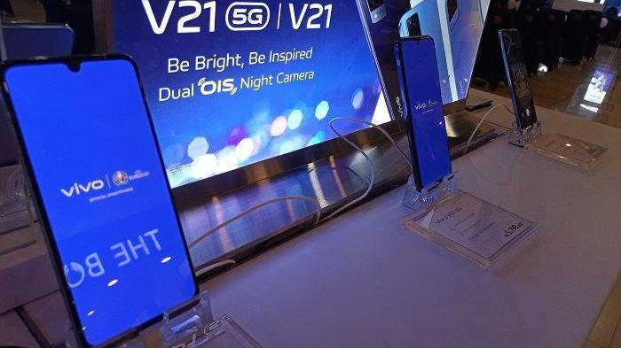 Tak Mau Kalah dengan Smartphone Lain, Kini Vivo Luncurkan Seri V21 5G dengan Layar Amoled 90Hz