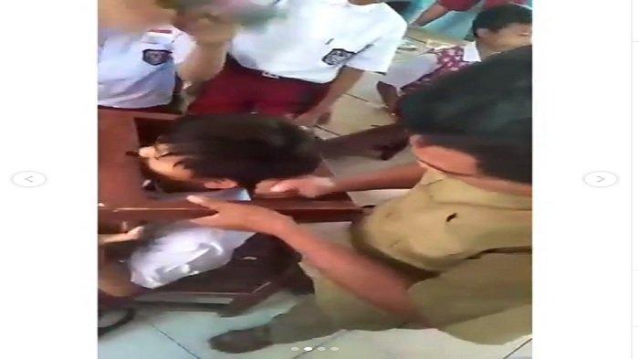 Viral Video Kepala Siswa Terjepit di Lubang Kursi, sang Guru: Permainan apa Tempat Duduk?