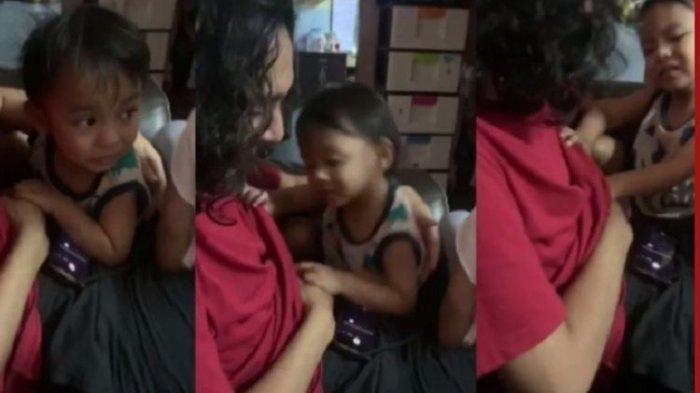 Viral di Malaysia, Pemuda Berambut Panjang Dimintai ASI Keponakan, Dipaksa Buka Baju oleh Si Balita