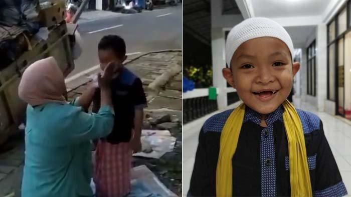 Viral Video Pemulung Dandani Anaknya sebelum Salat di Masjid, Warganet Terenyuh dan Terharu