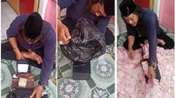 Sosok Pria Gondrong yang Viral Bisa Gandakan Uang, Ngaku Ustaz hingga Bisa Obati Berbagai Penyakit