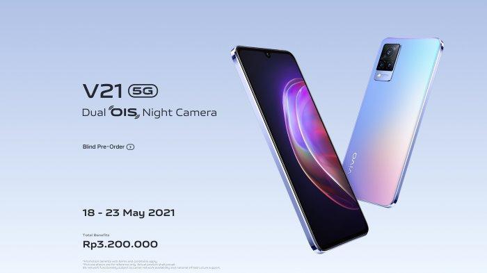 Informasi spesifikasi dan harga Vivo V21 5G