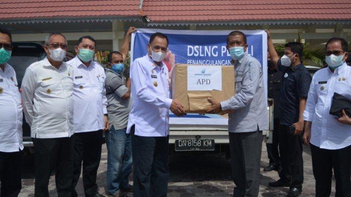 Pemprov Sulteng Terima Bantuan Penanganan Covid-19 dari PT Donggi Senoro