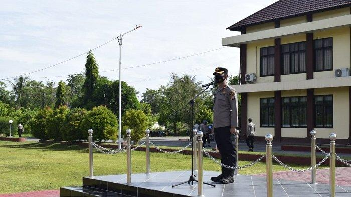 Pasca Pengamanan Perayaan Paskah, Polres Sigi Gelar Apel Pengecekan Personel