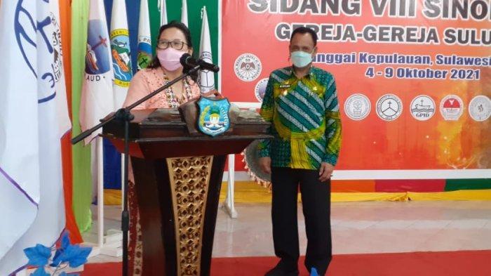 Harapan Wakil Gubernur Sulteng saat Buka Sidang Sinode Gereja di Banggai Kepulauan