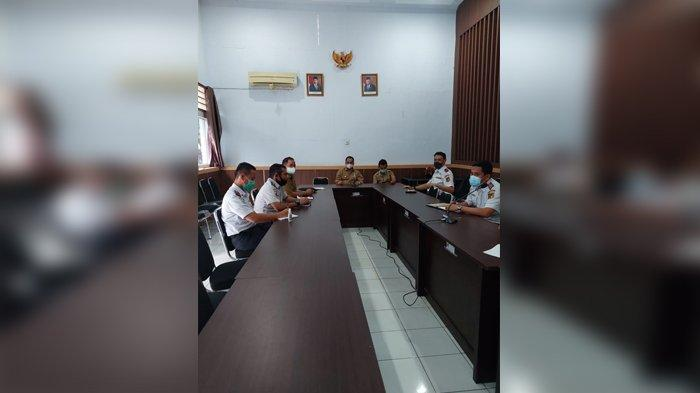 Wagub Mamun Amir Sambangi Dishub Sulteng, Minta OPD Prioritaskan Visi-Misi Gubernur