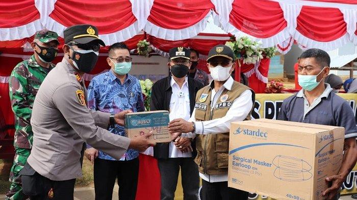 Tinjau Pos Perbatansan Provinsi, Wagub Sulteng Pastikan Warga di Gorontalo Tak Mudik ke Sulteng