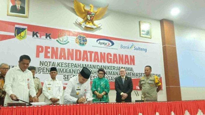 KPK Pantau Penerimaan Daerah dan Pengelola Aset di Provinsi Sulawesi Tengah