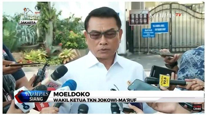 SBY Sebut Namanya dalam Isu Kudeta Demokrat, Moeldoko: Kirain Sudah Selesai