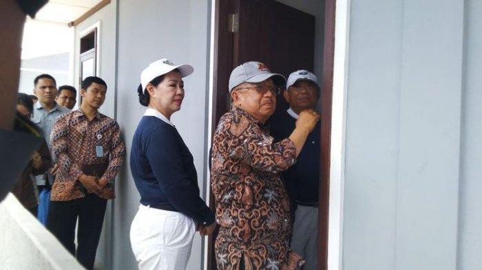 Dalam Kunjungan Kerja Jusuf Kalla di Huntap Palu, Relawan Keluhkan Masalah Pembebasan Lahan