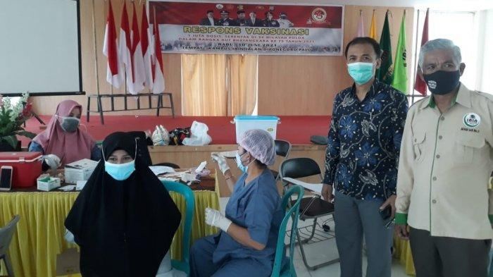 Wakil Rektor IAIN Palu Ingatkan Mahasiswa Patuhi Prokes Meski Sudah Divaksin Covid-19