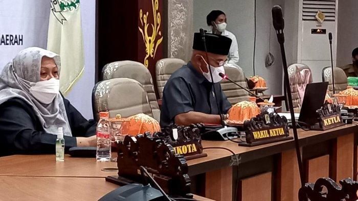 Wali Kota Palu Sampaikan Pendapat Akhir Renperda ABPB-P Tahun 2021