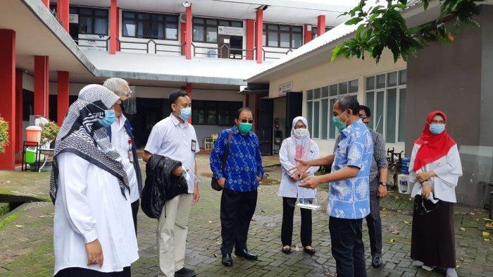 Wali Kota Palu Hidayat berkunjung ke Politeknik ATI Makassar, Selasa (29/12/2020).