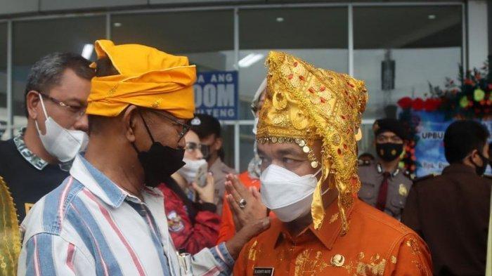 Beri Ucapan Ultah ke Wali Kota Palu Hadianto, Ini Harapan Gubernur Rusdi