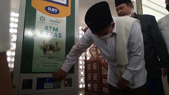 Hadianto Luncurkan ATM Beras untuk Warga Miskin di Palu, Begini Cara Penggunaanya