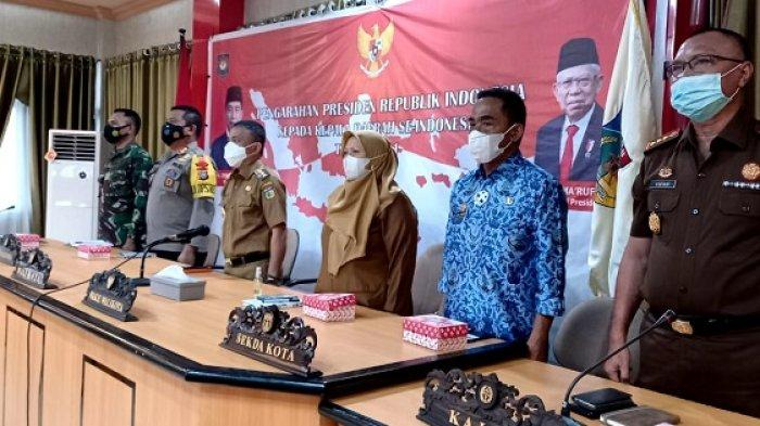 Rapat Virtual dengan Presiden Jokowi, Wali Kota Hadianto Dapat Perintah Tangani Pandemi Covid-19