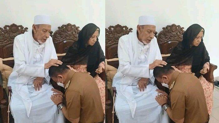 Sambangi Tokoh Islam Sulteng, Hadianto Rasyid Sungkem dan Minta Didoakan Habib Saggaf