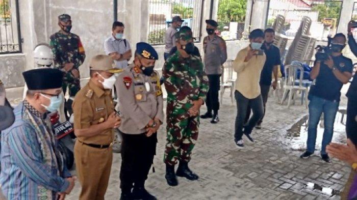 Wali Kota Hadianto Rasyid Sambangi Warga Nasrani di Palu saat Jumat Agung