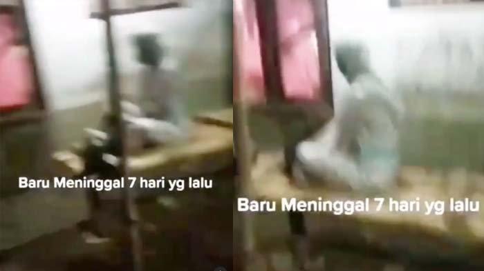 Viral Video Wanita Bangkit dari Kubur setelah 7 Hari Meninggal, Ternyata Ini Fakta Sebenarnya