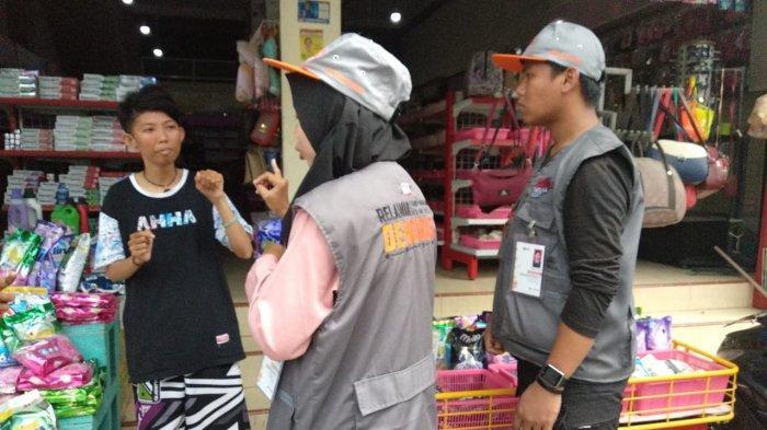 Sosialisasi Pemilu Menyasar Warga di Pasar Induk Masomba Palu