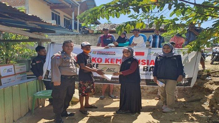 Korban Kebakaran di Kabupaten Tolitoli Butuh Alat Masak