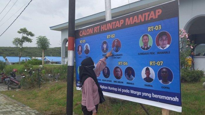 7 RT di Huntap Tondo 1 Pilih Ketua Rukun Tetangga Baru