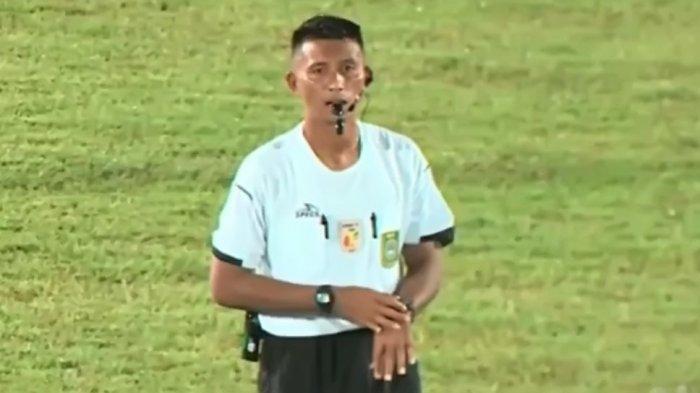 Sosok Bripka Arfandi, Personel Polres Banggai yang Sukses Pimpin Liga 2 PSSI di Palangkaraya