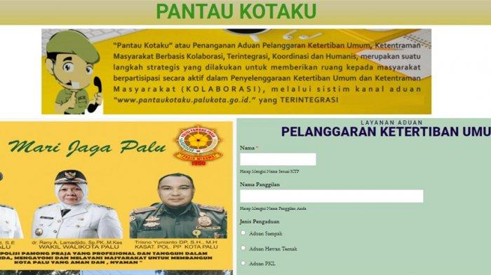 Website Terbaru Layanan Pengaduan Satpol PP Kota Palu: PantauKotaku.com, Cek Fungsinya Disini