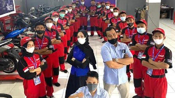 Pelatihan Yamaha Engineering School Palu Gandeng Disnakertrans Sulteng
