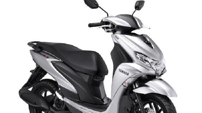 Yamaha FreeGo S Versionkini dilengkapi warna baru yang lebih modern, yaitu warna baruPrestige Silver.
