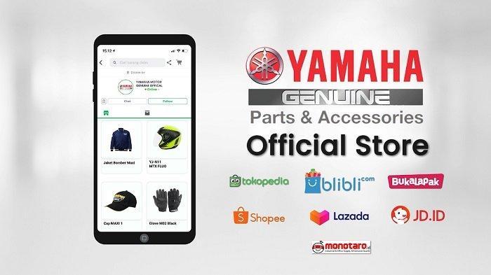 Yamaha Buka Toko Online Khusus Jual Sparepart dan Aksesoris