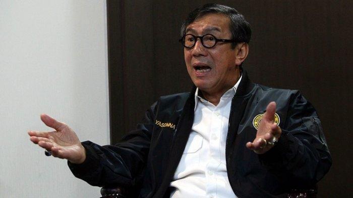 Ngaku Dongkol dan Gondok dengan Kubu AHY, Menkumham: Seperti Orang Tak Dewasa Tangani Partai