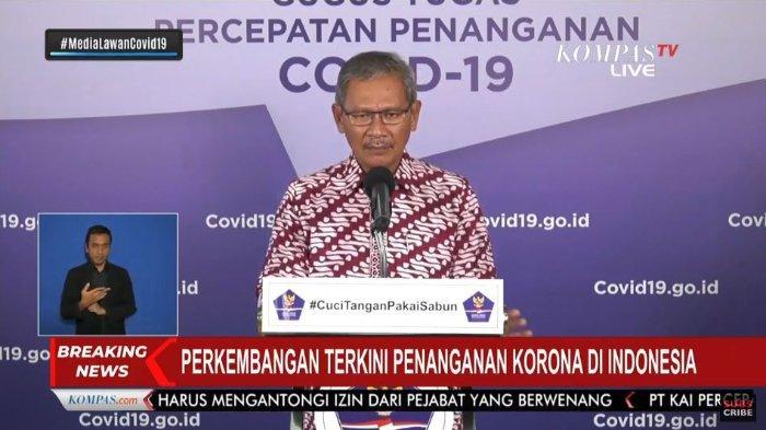 Update Covid-19 di Indonesia Kamis (30/4/2020): Tembus 10.118 Pasien, Total Sembuh 1.522 Orang