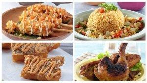 Resep Makanan dan Camilan: Ayam Bakar Bumbu Serai, Hotang Stick, Cakwe, Nasi Goreng Siram Kikil