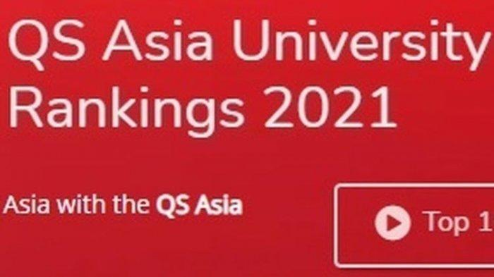Daftar 10 Kampus Terbaik Indonesia Versi QS World University Rankings, 1 PTS Ini Ikut 'Nangkring'