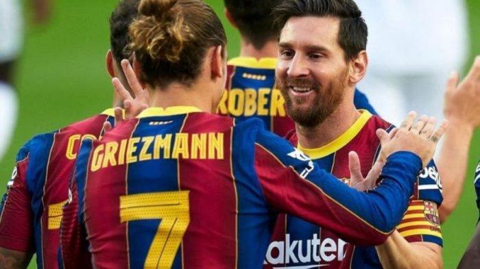 Griezmann Berkonflik dengan Messi, Hal Ini yang Jadi Kekhawatiran Barcelona, Bukan soal Cetak Gol