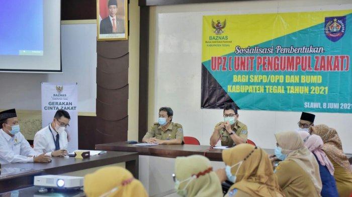 Baznas Kabupaten Tegal Mudahkan ASN dan Karyawan BUMD Kumpulkan Zakat Profesi