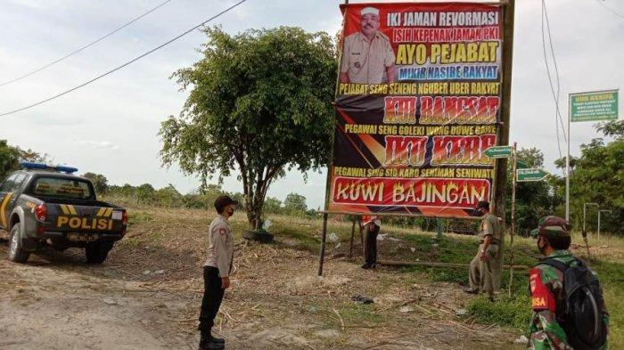 Heboh, Baliho Maki Pejabat di Sragen, Pemasang Ternyata Duduki Jabatan Penting di Desa Jenar