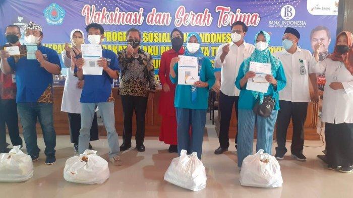 Pelaku Usaha Wisata di Brebes Dapat Bantuan Paket Sembako dari KPw BI Tegal, Ini Isinya