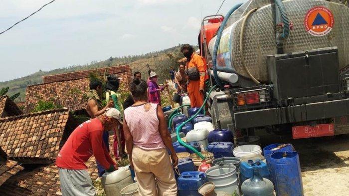 75 Desa di Blora Alami Krisis Air Bersih, BPBD: Diprediksi akan Ada 170 Desa Dilanda Kekeringan