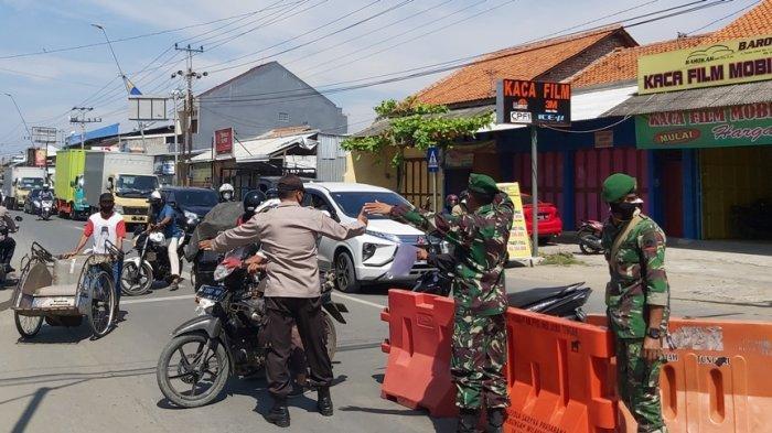 Zona Hitam Covid-19 Mobilitas Masyarakat Kota Tegal Meningkat, Meski 36 Jalan Sudah 'Ditutup'