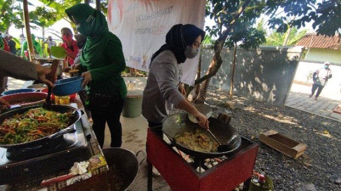 Dapur Umum di Toyareka Purbalingga Bantu Warga yang Jalani Isolasi Mandiri